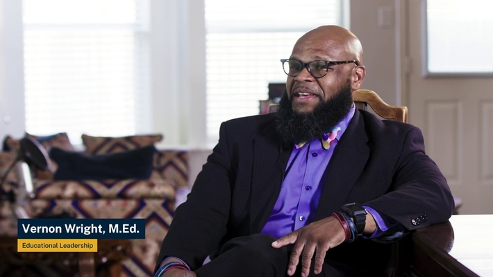 Vernon's Story: M.Ed. in Educational Leadership with ACE