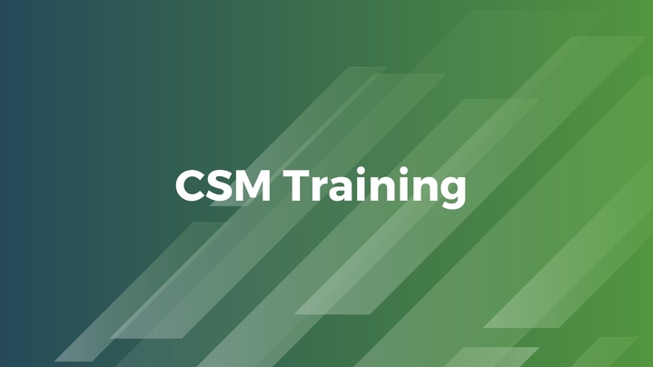 Thumbnail for channel CSM Training