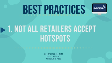 Thumbnail for entry Hotspots Best Practices