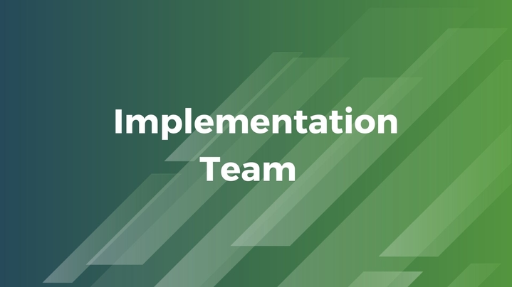 Thumbnail for channel Implementation Team