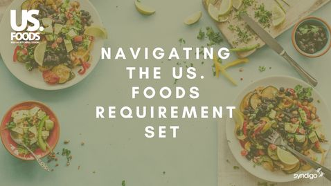 Thumbnail for entry Navigating The US. Foods Requirement Set