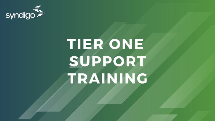 Thumbnail for channel Tier 1 Support Training