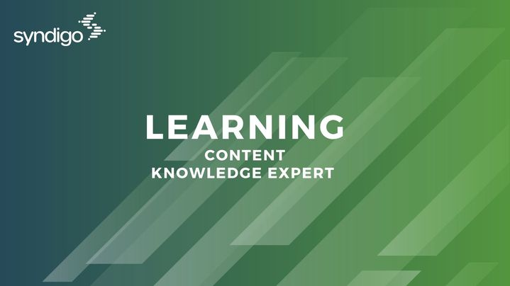 Thumbnail for channel Content Knowledge Expert Learning Module
