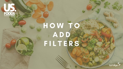 Thumbnail for entry How to Add Filters