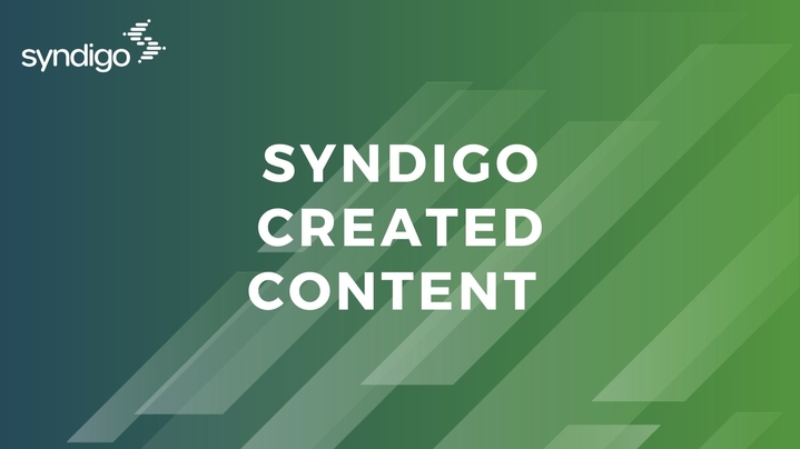 Thumbnail for channel Syndigo Created Content
