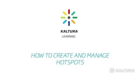 Thumbnail for entry Create Hotspots