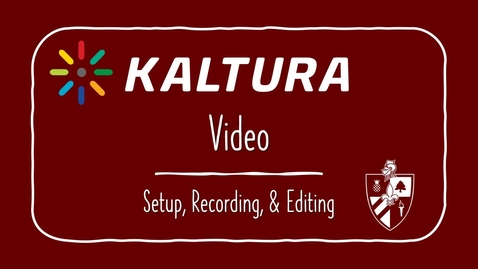 Thumbnail for entry Kaltura: What is it?