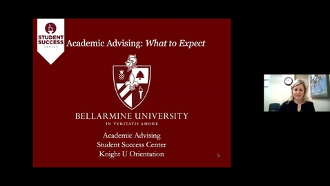 Thumbnail for entry Knight U - Rubel School of Business Advising Session