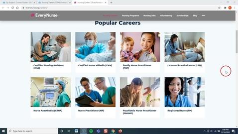 Thumbnail for entry Nursing 110: Nurses Roles