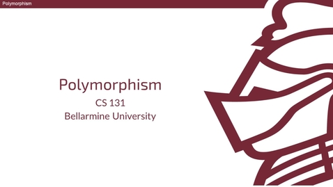 Thumbnail for entry Polymorphism