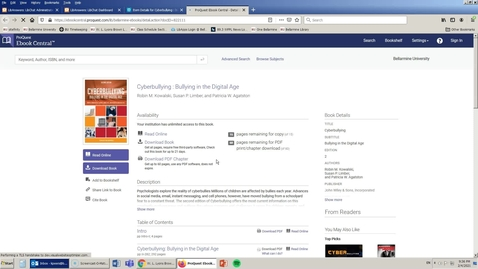 Thumbnail for entry Books: Searching for eBooks and Print Books