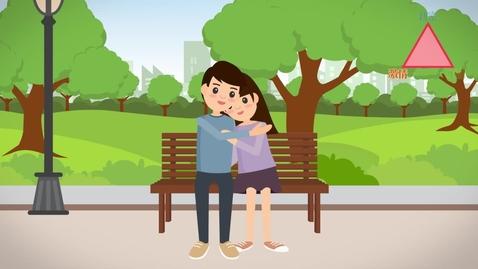 內容項目 生活與社會「三分鐘概念」動畫視像片段系列:(2)愛情三角理論 的縮圖