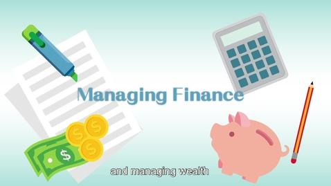 """內容項目 Life and Society """"3-minute Concept"""" Animated Video Clips Series: (7) Personal Resource Management: Managing Finance 的縮圖"""