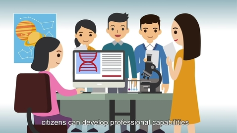 "內容項目 Life and Society ""3-minute Concept"" Animated Video Clips Series: (3) Smart City 的縮圖"
