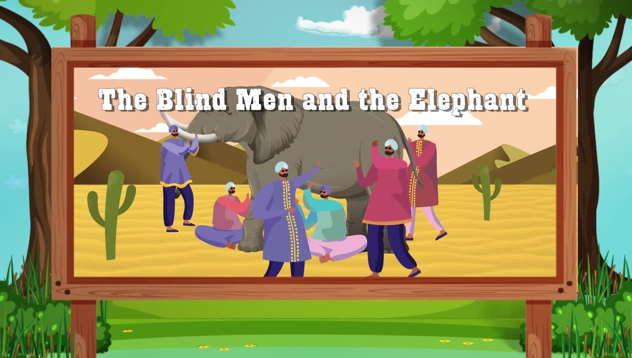Let Our Imagination Run Wild Episode 7: The Blind Men and the Elephant (English subtitles available)