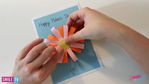 Thumbnail for entry Learn how to  make a  Flower Card