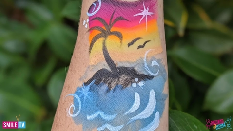 Thumbnail for entry Tropical Arm Painting