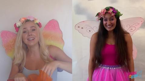 Thumbnail for entry Fairy Jasmin and Fairy Ellie make fairy dust