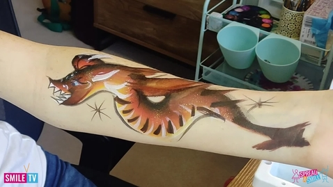 Thumbnail for entry Dragon Arm Painting