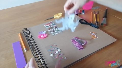 Thumbnail for entry Making Scrap Books with Lauren