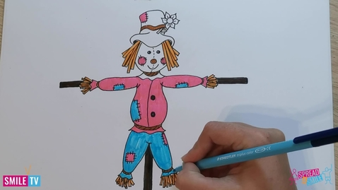 Thumbnail for entry Lets draw a Scarecrow