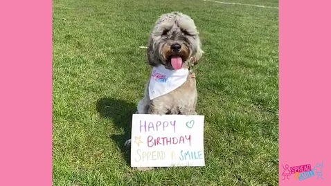 Thumbnail for entry Birthday Message From Our Doggies