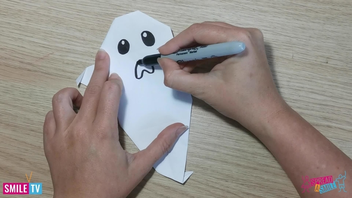 Oragami Ghost Making