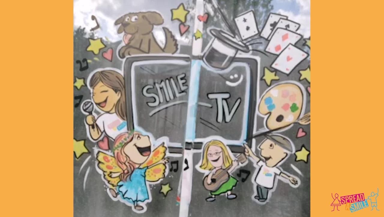 Smile TV Graffiti