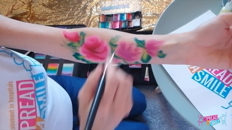 Thumbnail for entry Flowers Arm Paint