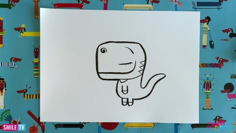 Thumbnail for entry Winnie The Dinosaur - Draw with Rob
