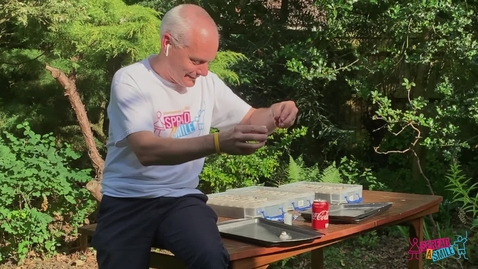 Thumbnail for entry Coke and Mentos experiment