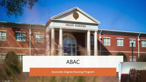 Thumbnail for entry Associates of Nursing