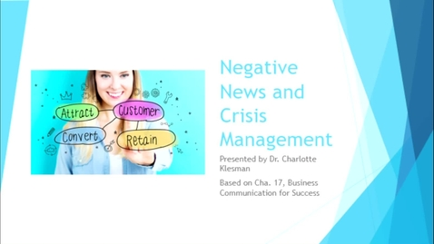 Thumbnail for entry C3100 Cha17 Negative News - September 30th 2020, 6:55:16 pm