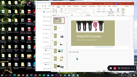 Thumbnail for entry Dress for Success - August 24th 2020, 2:30:57 am