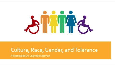Thumbnail for entry Culture, Race, Gender, and Tolerance - August 17th 2020, 11:42:22 am