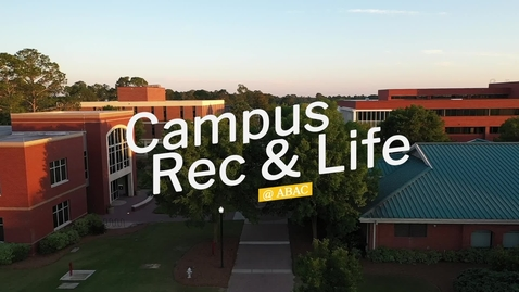 Thumbnail for entry Campus Rec and Life
