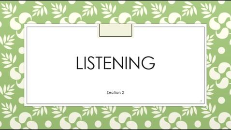 Thumbnail for entry C3100 Listening Sect 2 - September 14th 2020, 3:55:18 pm