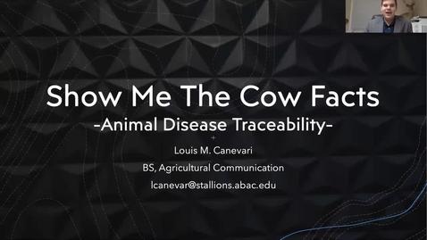 Thumbnail for entry Louis Canevari Capstone Presentation