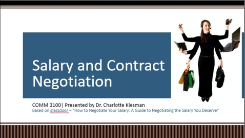 Thumbnail for entry C3100 Salary & Contract - October 26th 2020, 12:41:10 pm