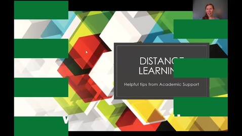 Thumbnail for entry Distance Learning- Prepare for the Transition