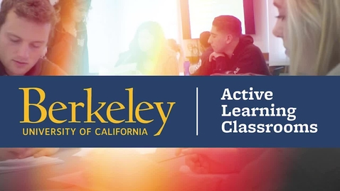Thumbnail for entry Active Learning Classroom