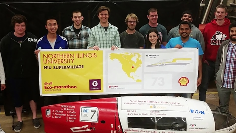 Thumbnail for entry NIU Supermileage Team