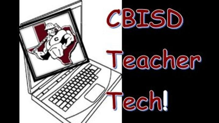 Thumbnail for channel CBISD Teacher Tech