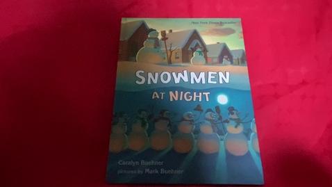 Thumbnail for entry Lackey Snowmen at Night