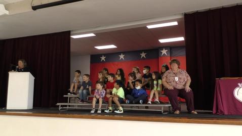 Thumbnail for entry Wild Peach Elementary Awards 5.25.2021 - Kindergarten Harrington