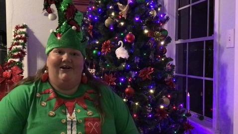 Thumbnail for entry Christmas Selfie (1)