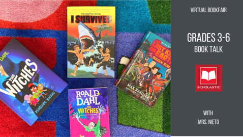 Thumbnail for entry Middle Grade Book Talk: The Witches, Last Kids on Earth, & I Survived