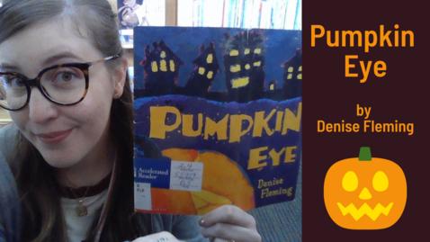 Thumbnail for entry Pumpkin Eye by Denise Fleming