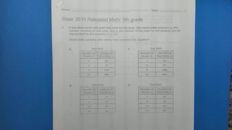 Thumbnail for entry Oral Accm Math  Benchmark  for April 5th - April 4th 2021, 4:07:05 pm
