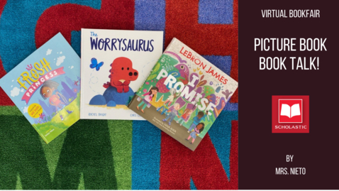 Thumbnail for entry Picture book talk: I Promise, the Worrysaurus, & the Fresh Princess